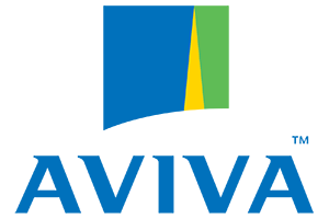 Aviva logo - cleint Groupe Telecom