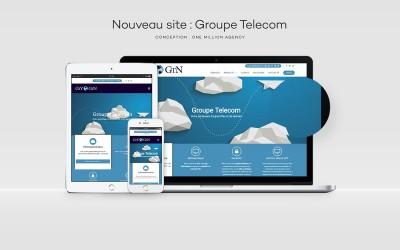 Nouveau site internet Groupe Telecom